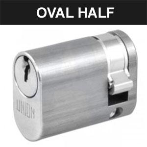 Oval Half Cylinders