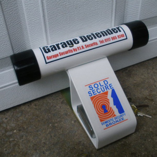 Pjb Garage Defender With Padlock Saunderson Security
