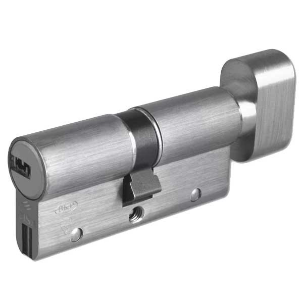 Cisa Astral S Euro Cylinder & Turn Nickel Plated