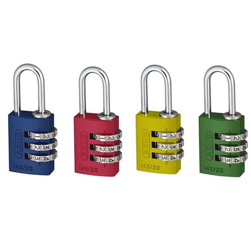 Abus 145/20mm Combination Padlocks