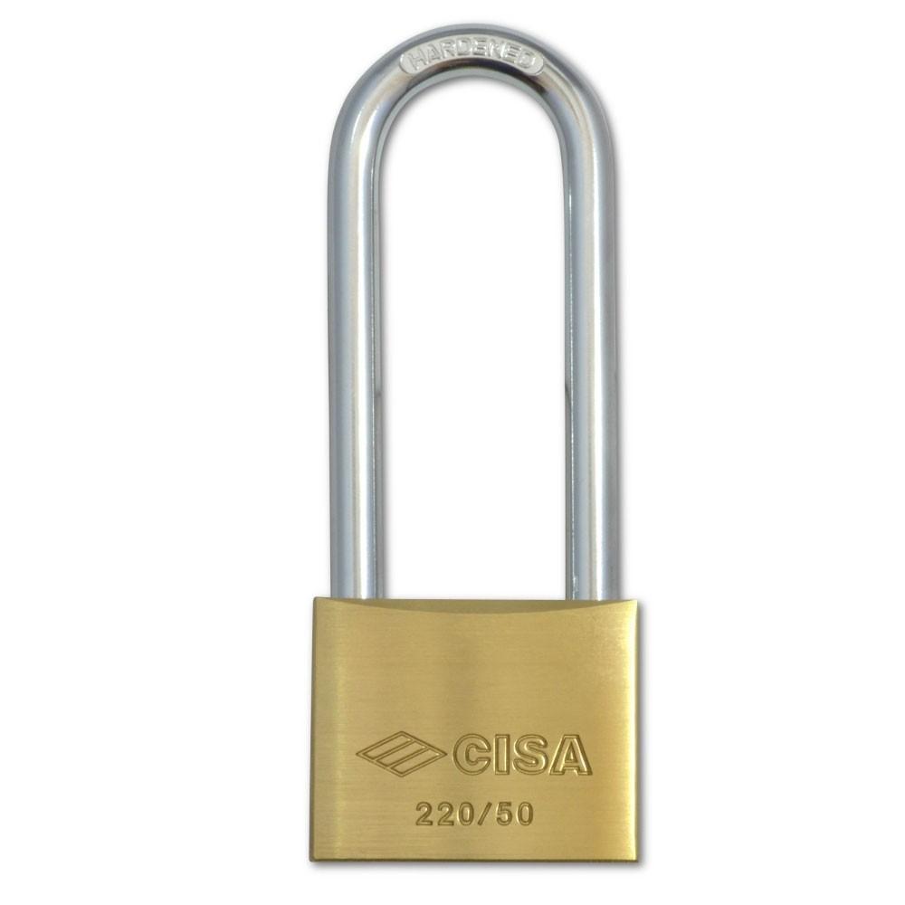Cisa Brass Padlock 22011 50mm LS