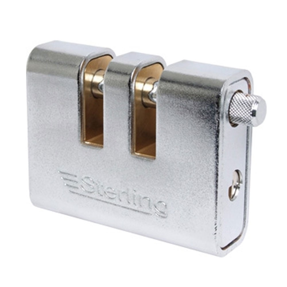 Sterling Armoured Steel Padlock Double Slot