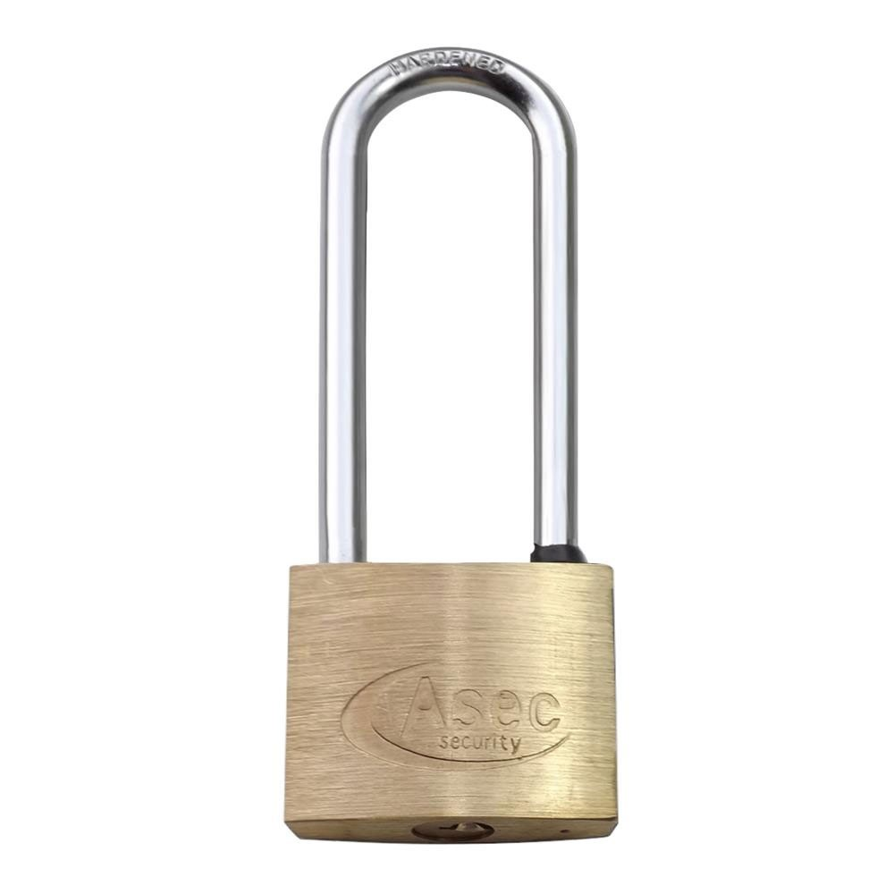 Asec Brass Padlock 40MM LS