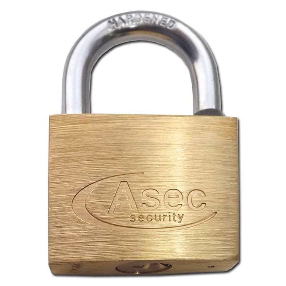 Asec Brass Padlock 40MM