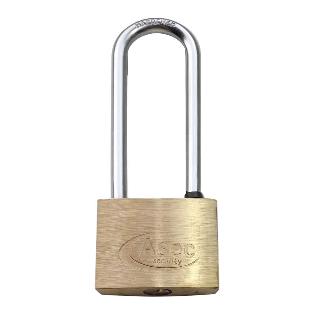 Asec Brass Padlock 50MM LS