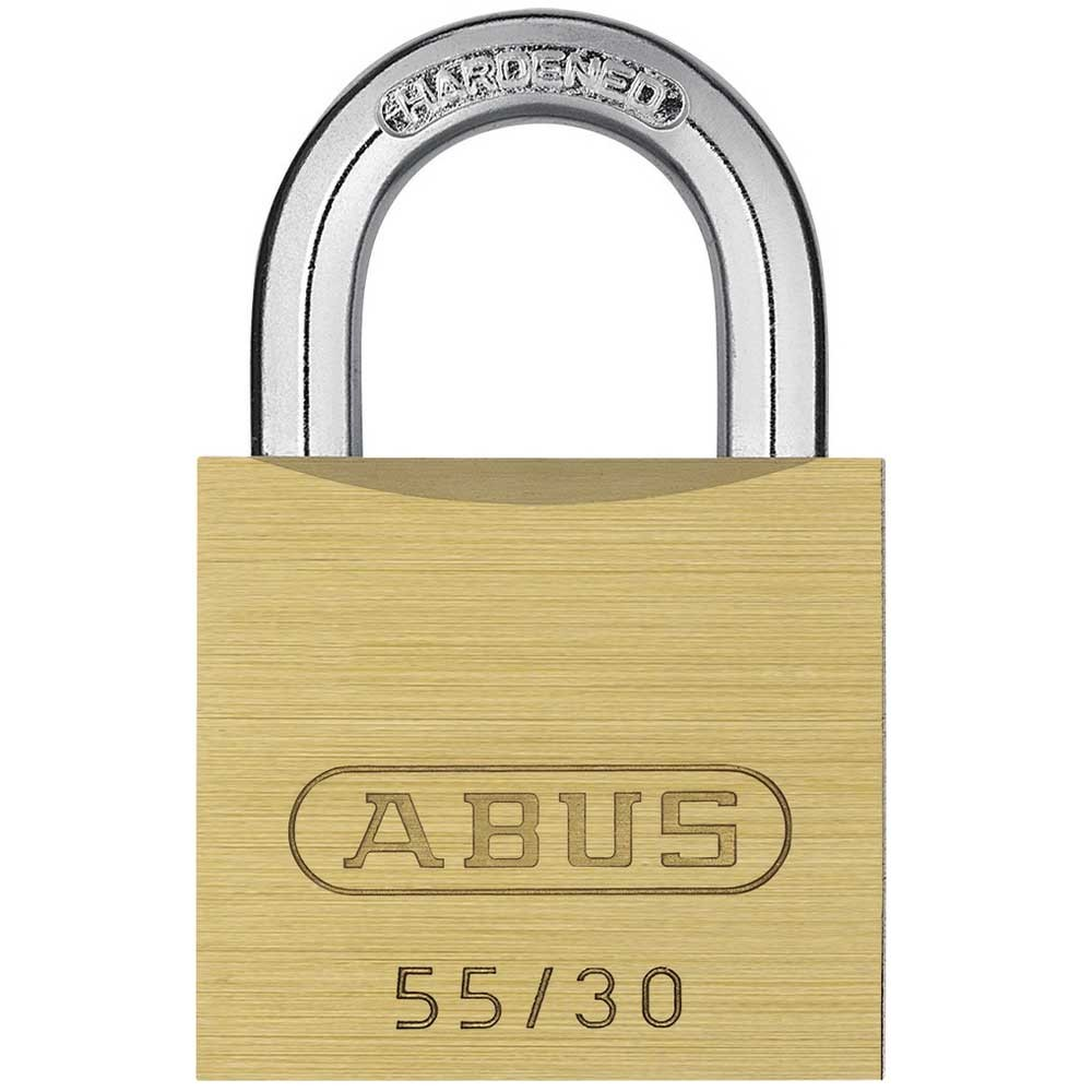 55/30mm Brass Padlock