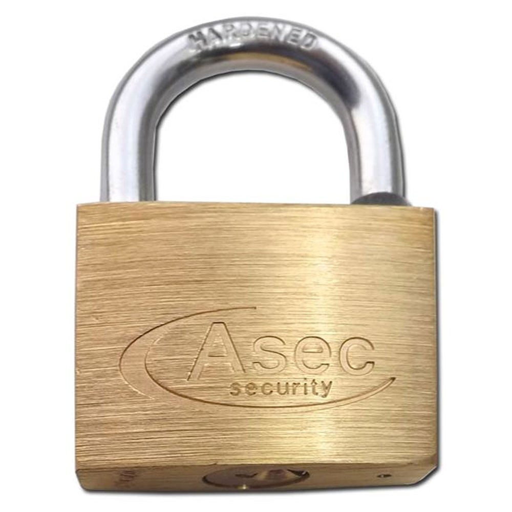 Asec Brass Padlock 60MM