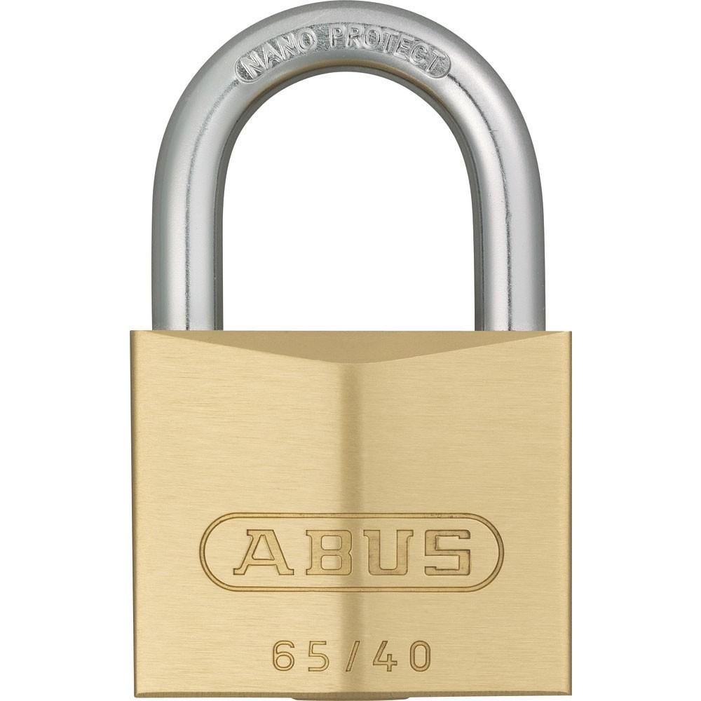 65/40 Brass Padlock