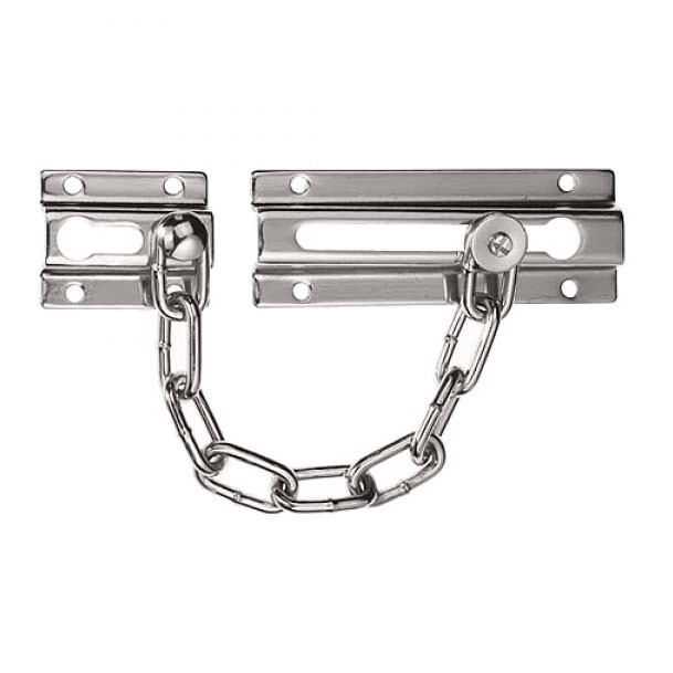 Era 787 Door Chain Satin Chrome