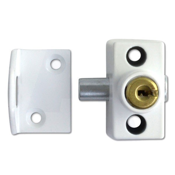 Era 804-12 White Window Sashbolt