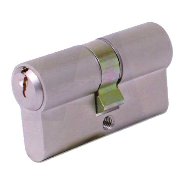 Evva Euro Double Cylinder Nickel Plated