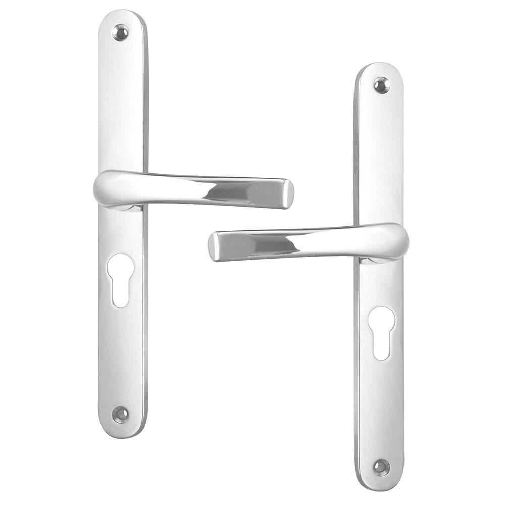 Asec UPVC Door Handles 48 / 270mm Chrome