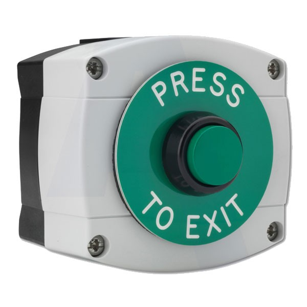 Asec Surface Mounted Press To Exit Button