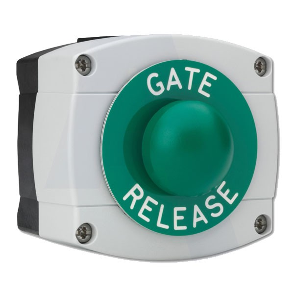Asec Surface Mounted Gate Release Green Dome