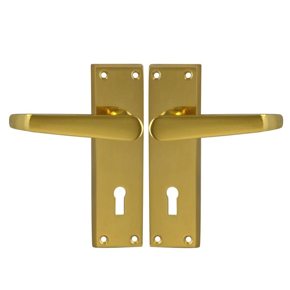 Asec Victorian furniture Lock PB