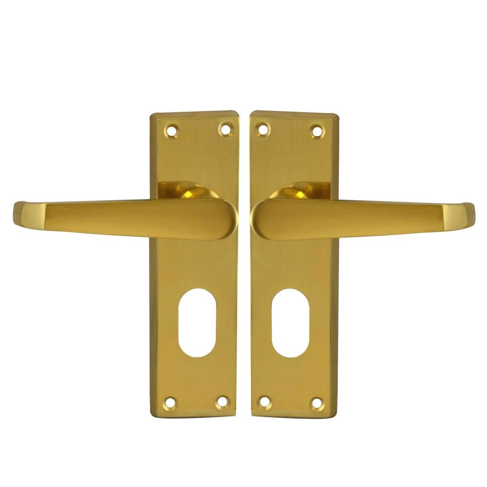 Asec Victorian furniture Lock Oval PB
