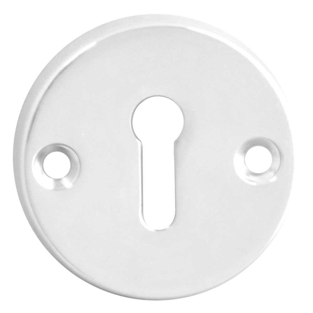Asec Escutcheon 45mm Standard CP