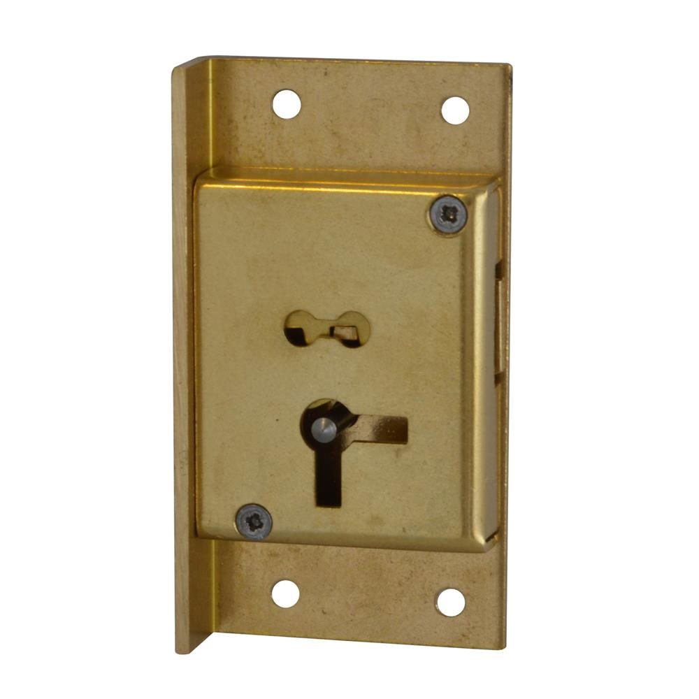 Asec No. 61 4 Lever Cut Cupboard Lock 64mm LH
