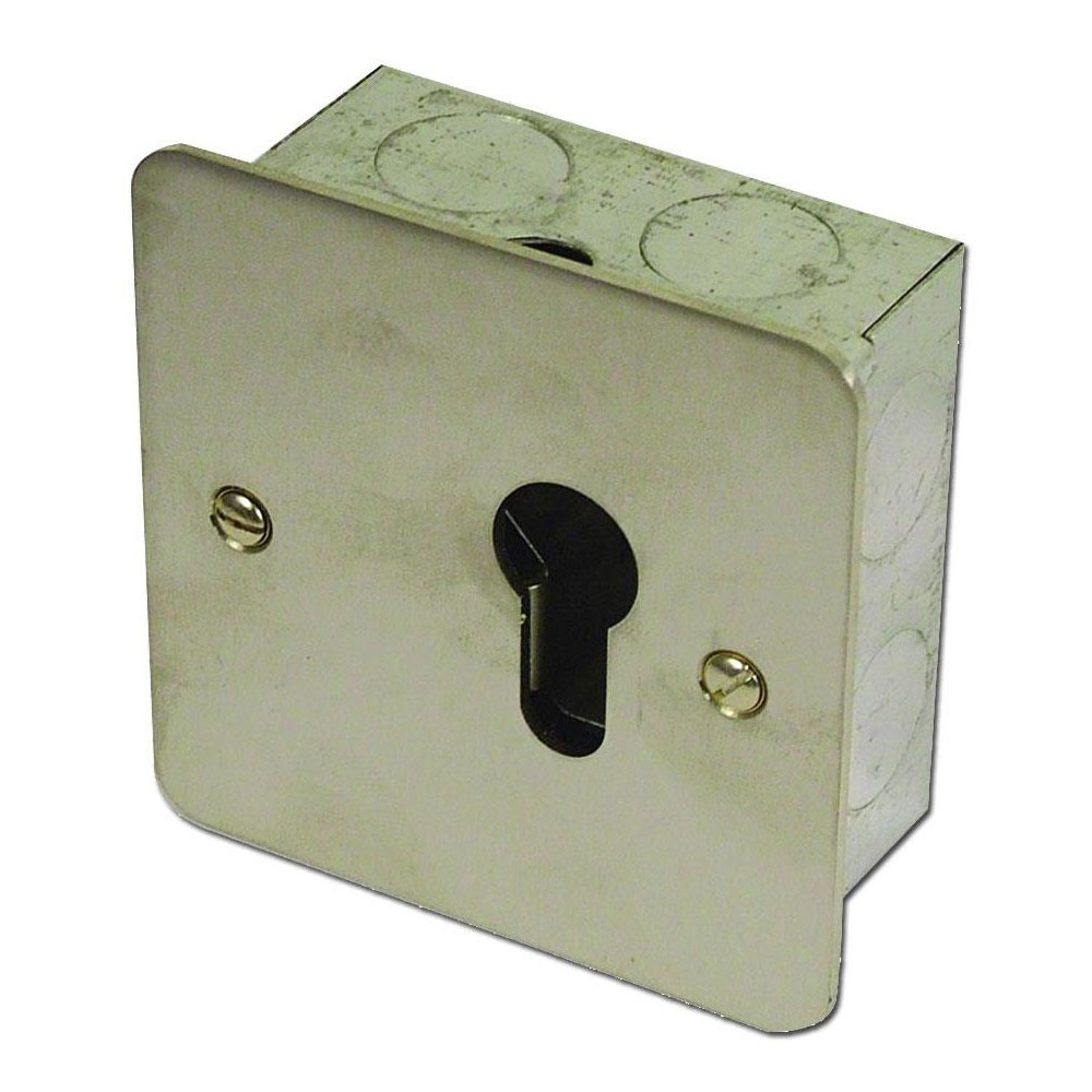 Asec On/Off Euro Key Switch Momentry
