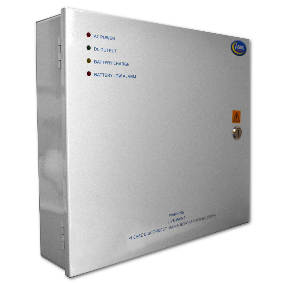 Asec Power Supply 12vDC 2Amp
