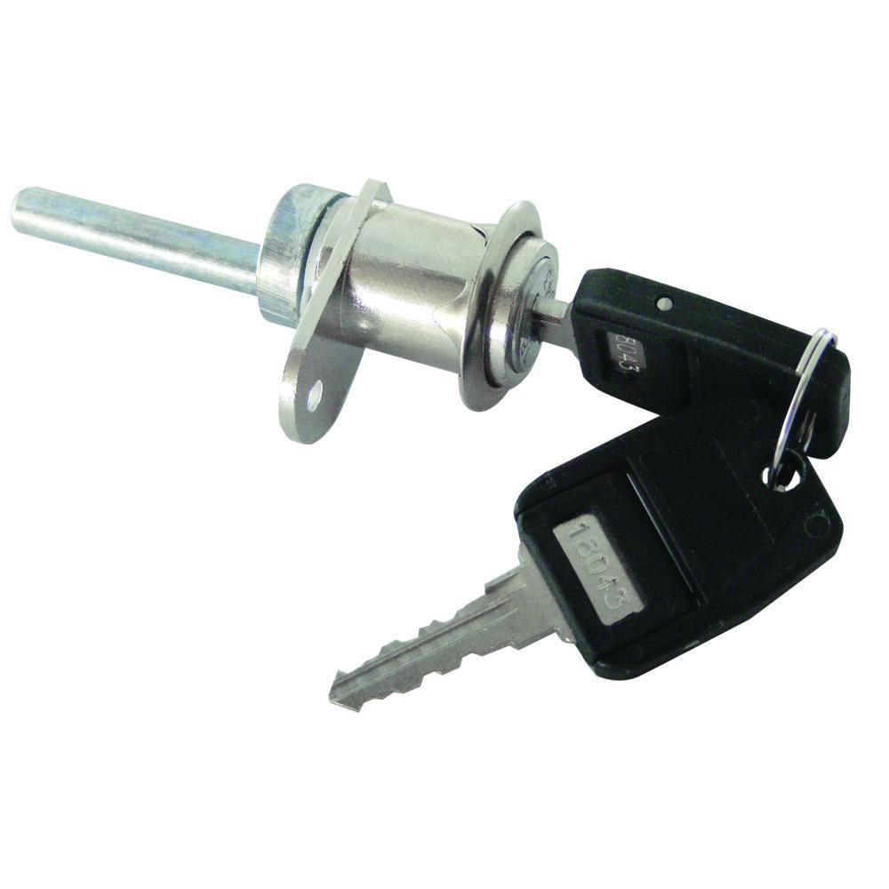 Asec Single Flange Fix Furniture Pedestal Lock