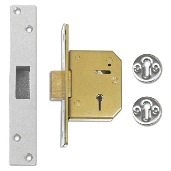 Union 3G115 Deadlock Satin Chrome 67mm TP20