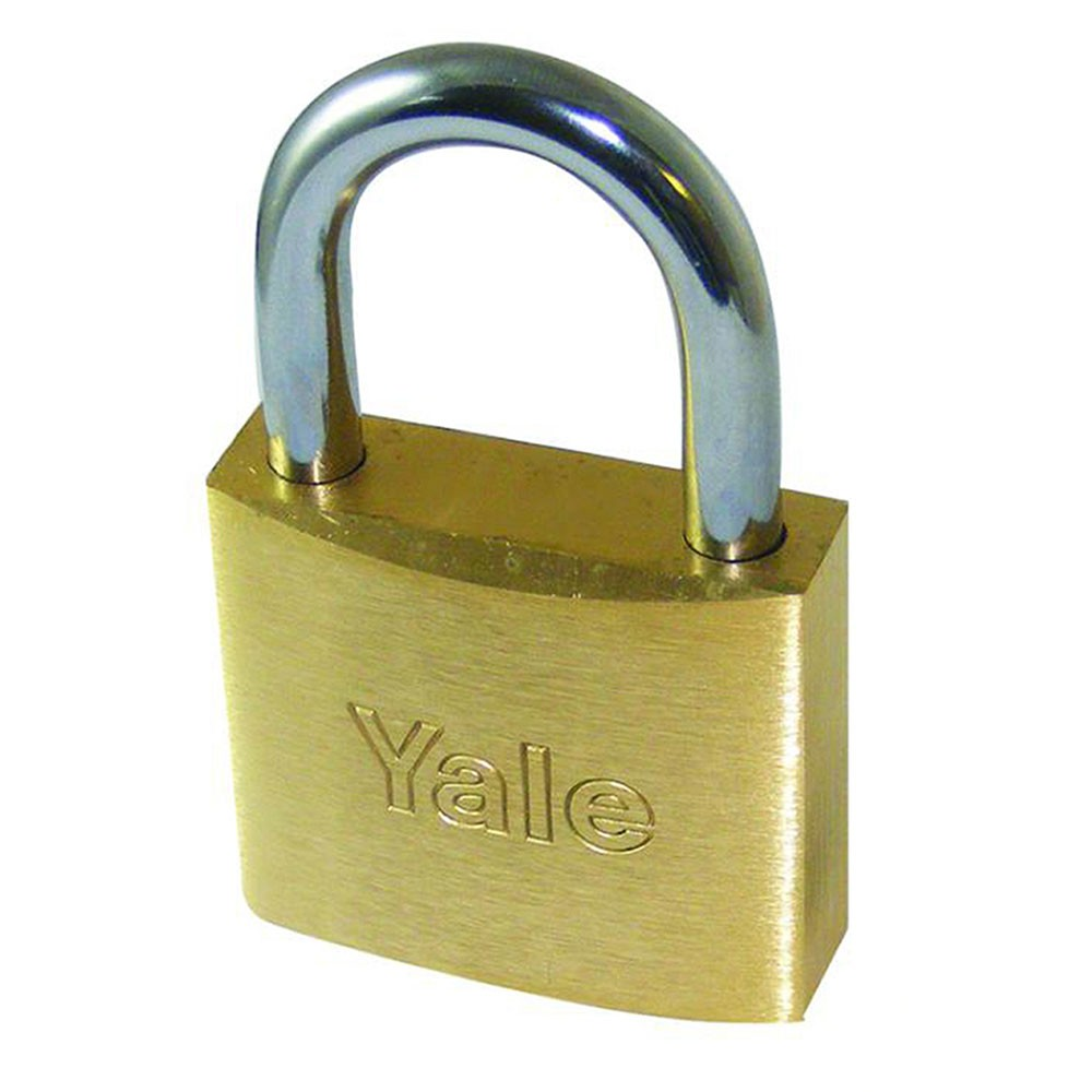 770 Brass Padlock 60mm Steel Shackle