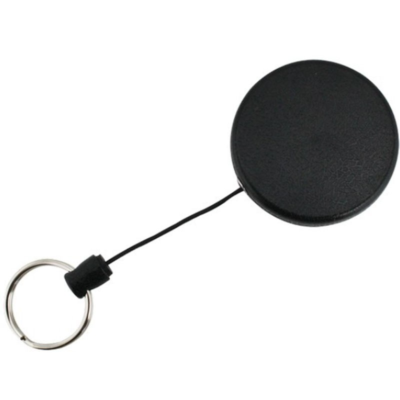 SKS Large Plastic Retractable Key Reel With Cord