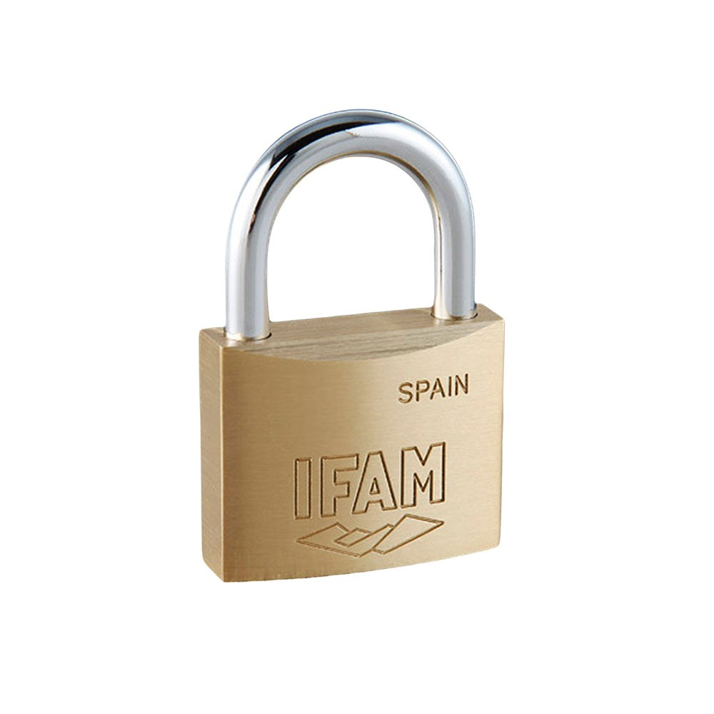 E15 Brass Padlock 15mm