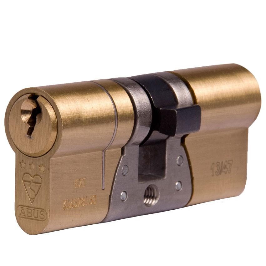 Abus E90 BSI 3 Star Cylinder 4550 Brass