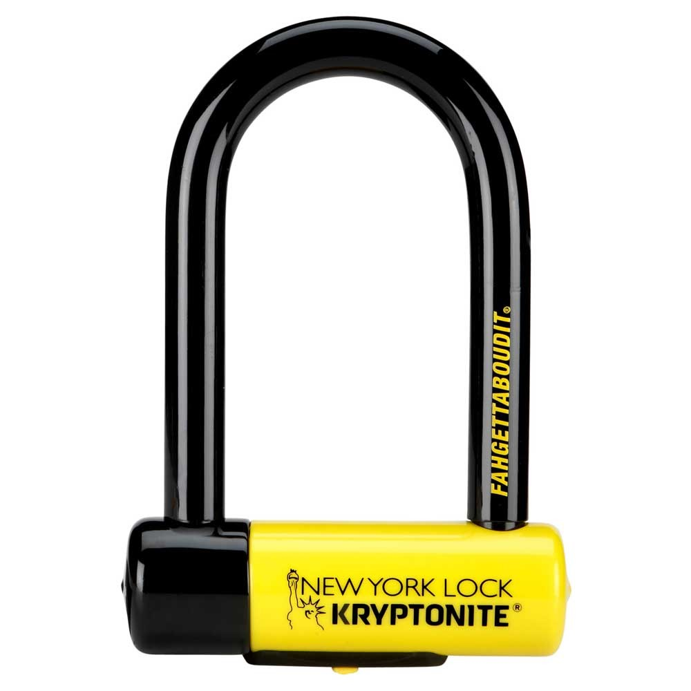 Kryptonite New York New-U Fahgettaboudit U-Lock