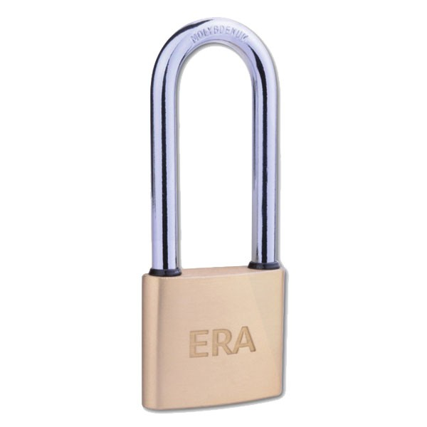 Era Long Shackle Solid Brass Padlock 40mm