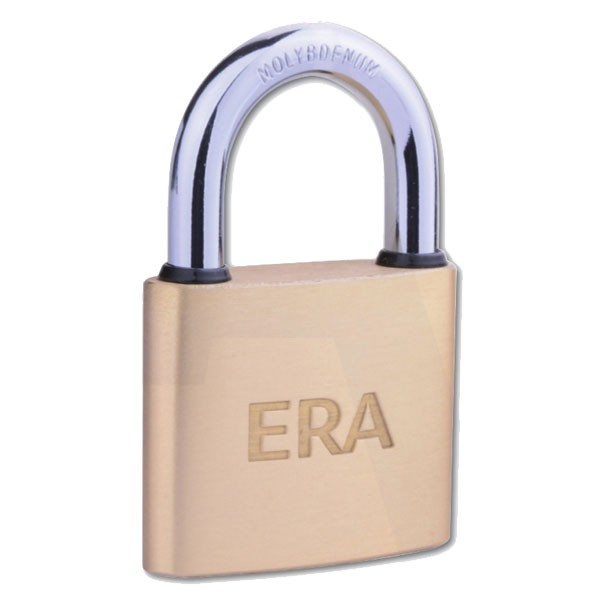 Era Solid Brass Padlock 50mm