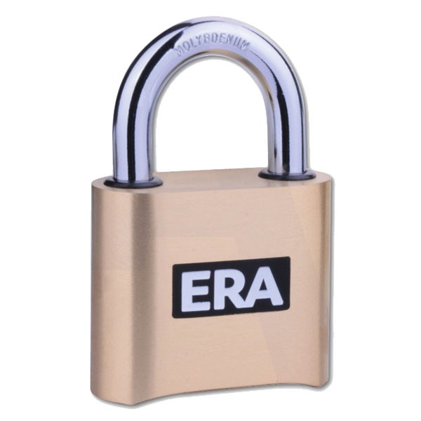 Era High Security Brass Combination Padlock