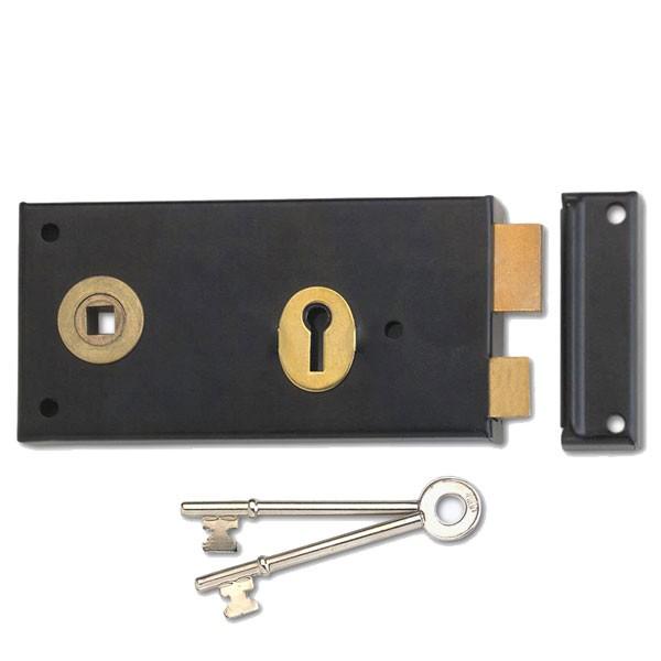 Union 1465 Rim Lock Diagram 1