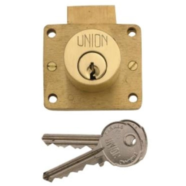 Union Cylinder Drawer Lock 51mm