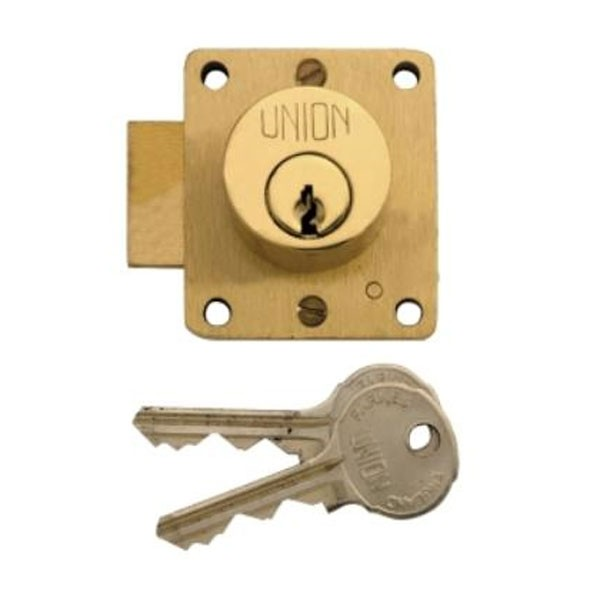 Union Cylinder Cupboard Lock 44mm