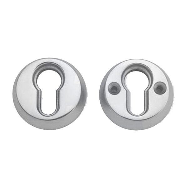 Union 53045 Euro Security Rose Satin Chrome