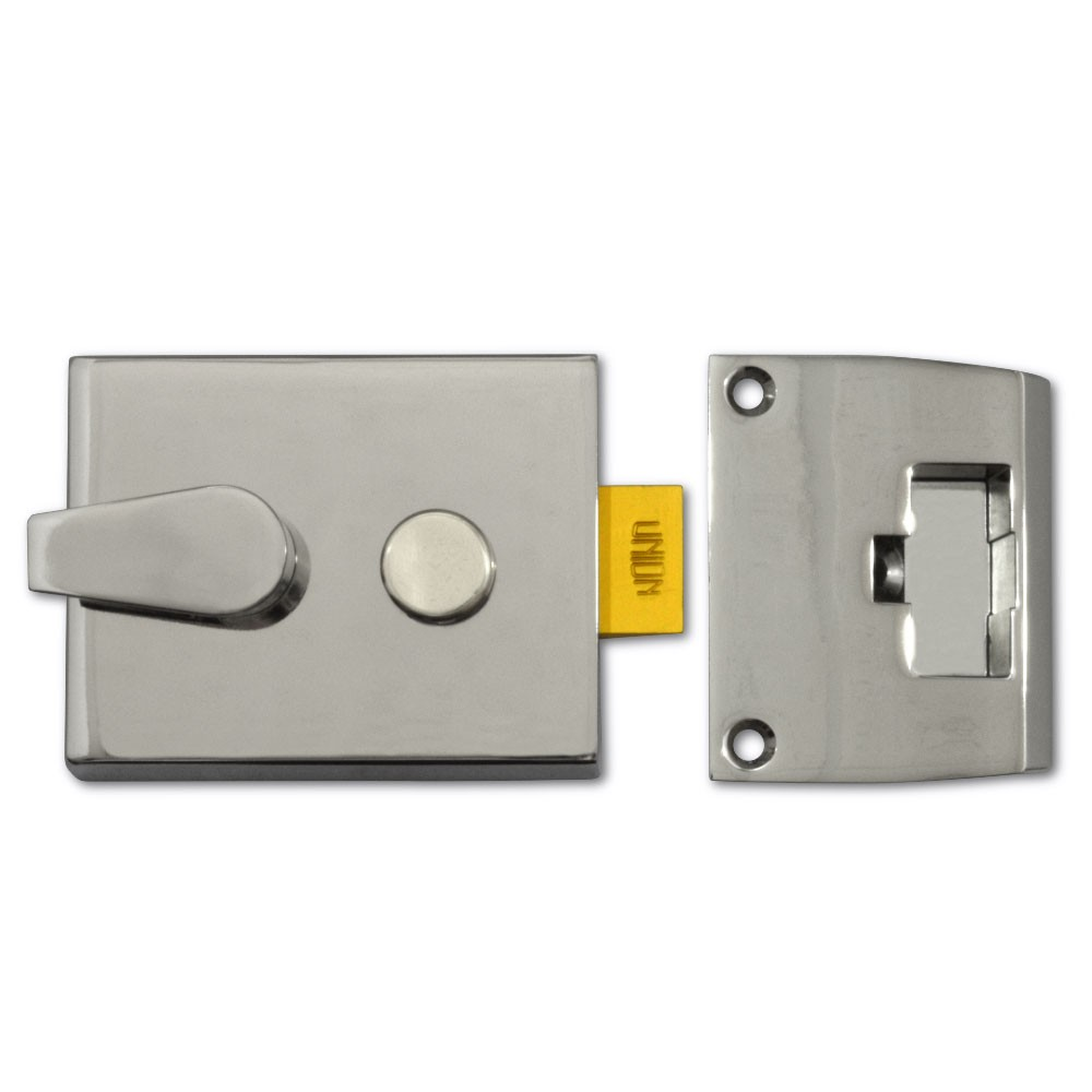 Union JL1028 Nightlatch Case Satin Chrome