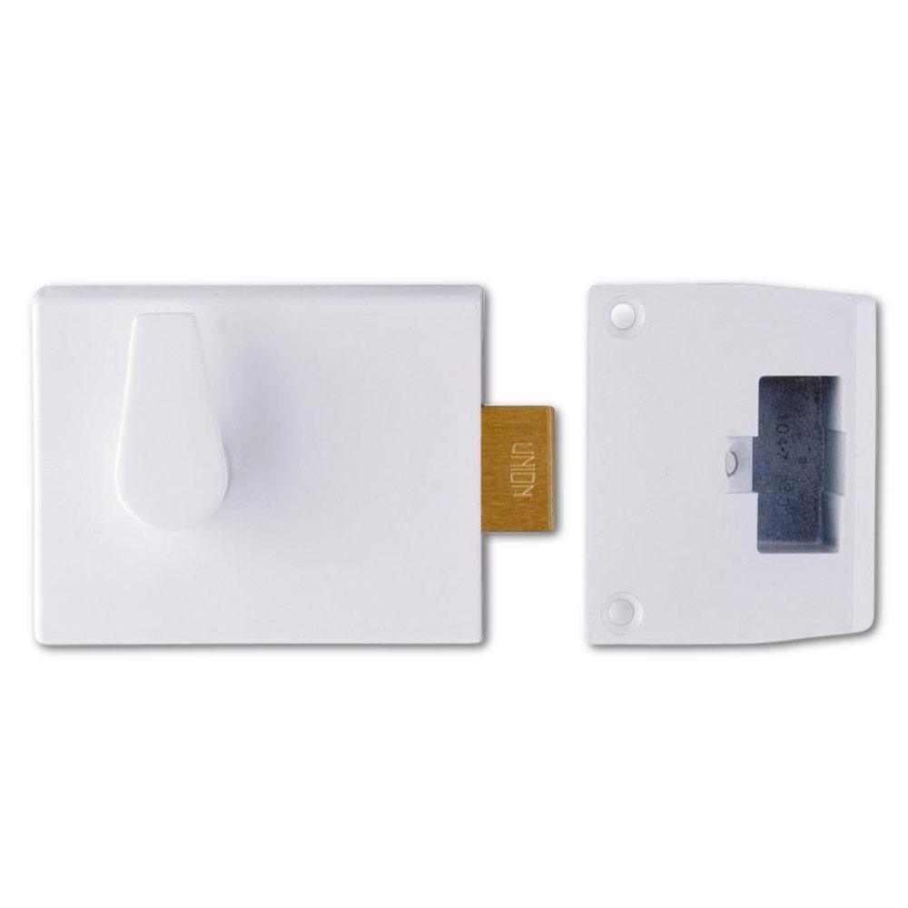 Deadbolt Nightlatch Case White