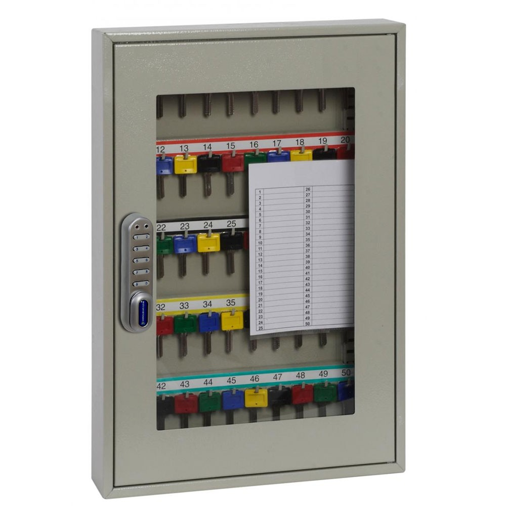 Keysure Clear View Key Cabinet 50 Elec