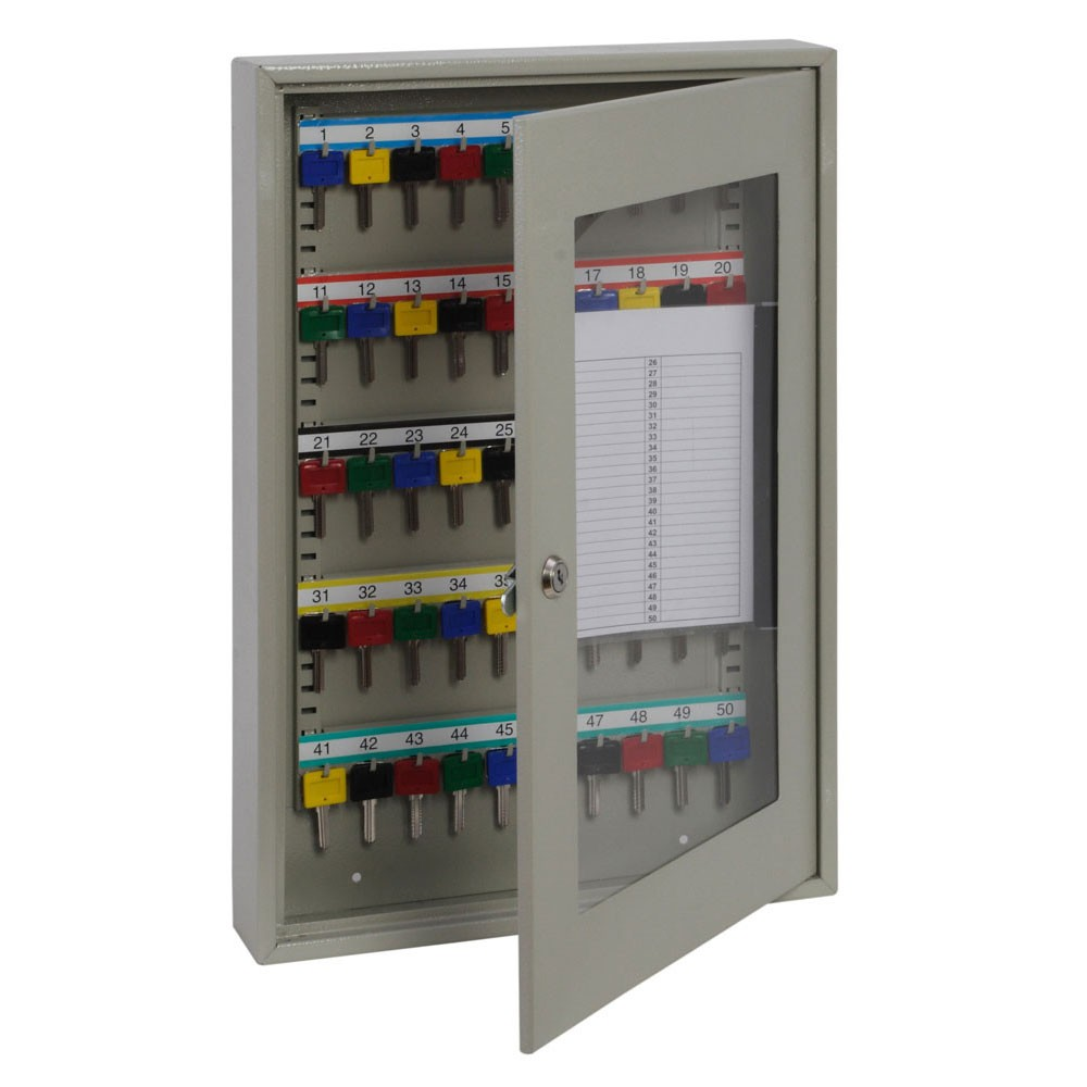 Keysure Clear View Key Cabinet 50