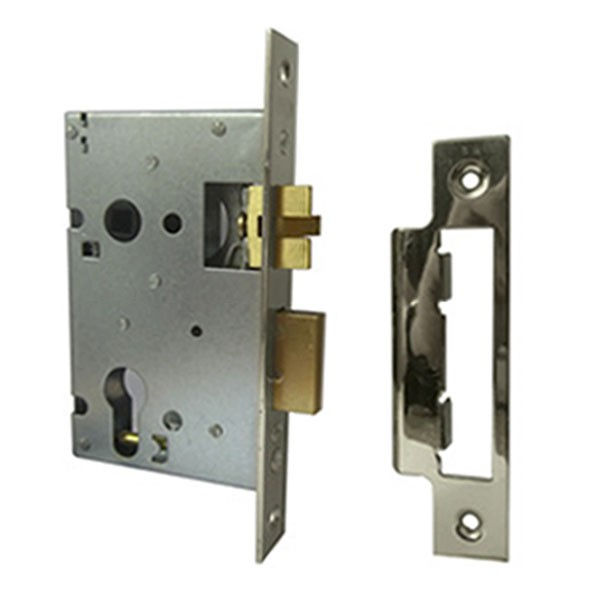 BBL Sashcase Euro Silent Latch Stainless Steel