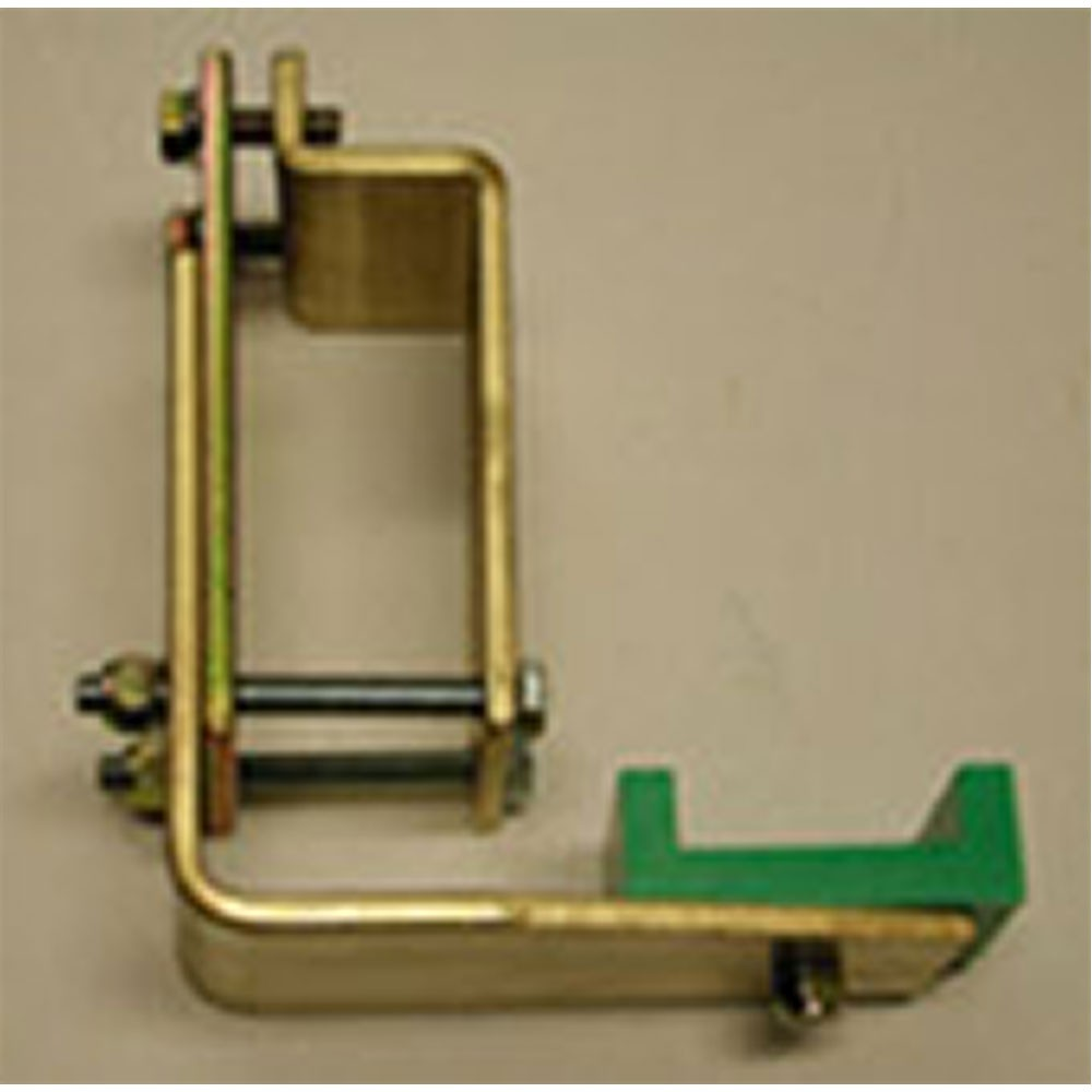 Universal Clamp on Angle Bracket