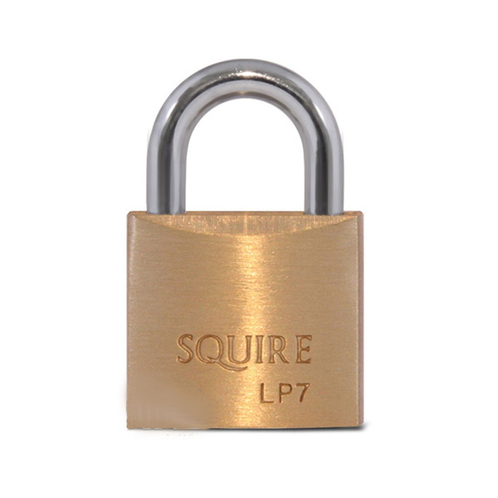 Leopard Brass Padlock 25mm