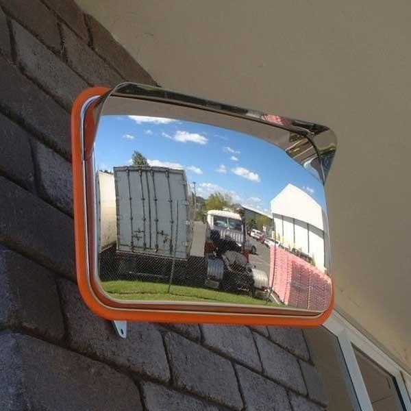 Securikey Anti-Vandal Steel Car Park Mirror