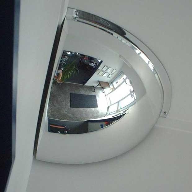 Securikey Convex Quarter Face Dome Mirror