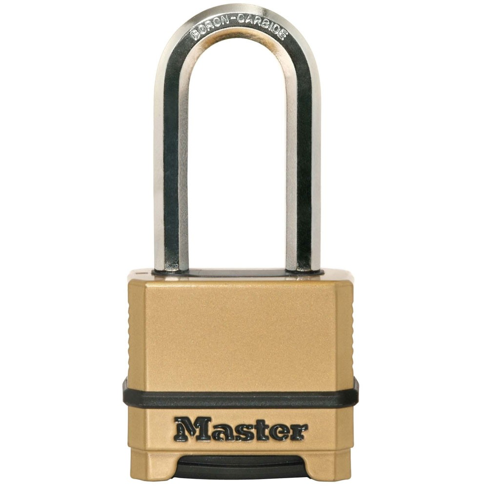 Master Lock Excell Combo Padlock Gold 50mm LS