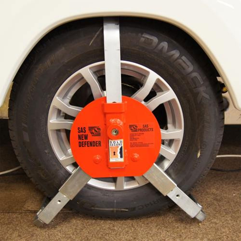 Sas New Defender Wheel Clamp Saunderson Security