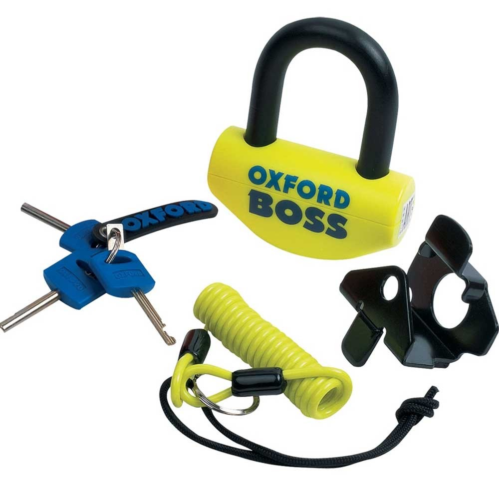 Oxford The Boss Disc Lock Yellow
